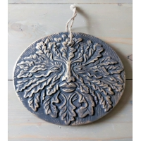 Green Man Terracotta Ornament